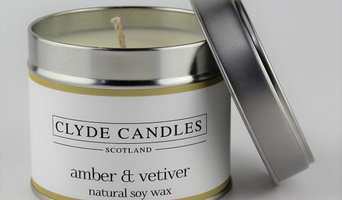 Amber & Vetiver Scented Candle Tin - Clyde Candles