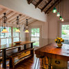 Kitchen of the Week: Rustic Space Opens to Herb and Vegetable Gardens