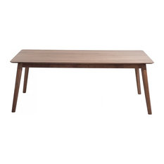 Madox Rubberwood Dining Table, Large