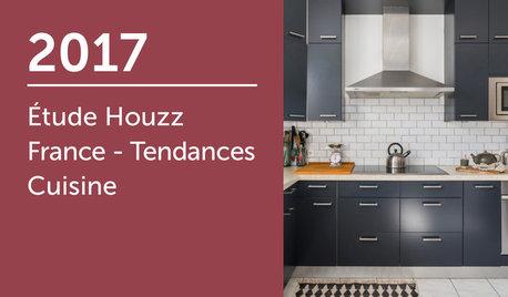 Étude Houzz France : Tendances Cuisine 2017