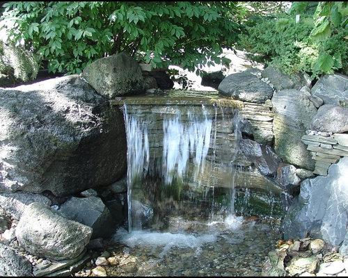 Pondless Waterfall Houzz