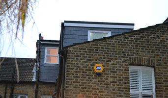 Full width L shaped dormer into one bedroom, closet and bathroom - Lewisham SE12