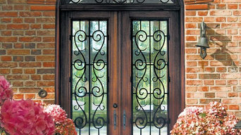 Iron/Wood Entry doors