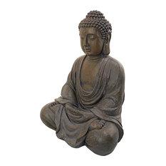 Design Toscano - Buddha of the Grand Temple Sculpture - Garden Statues, Sculptures & Art