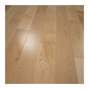 "5""x5/8"" Maple Prefinished Engineered Wood Flooring, 4mm, 1 Box"