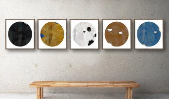 Large Framed Art | Primitive Cosmos Series