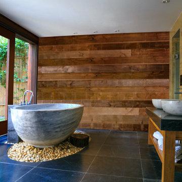 Modern Cabin Style Bathroom