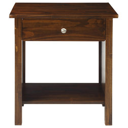 Transitional Nightstands And Bedside Tables by VirVentures