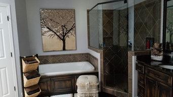 Rustic-Chic Bathroom