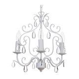 Arielle 3 Light Ceiling Pendant, Cream