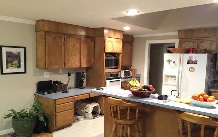 N. Corvallis White Kitchen