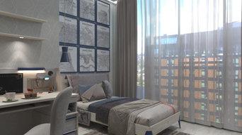 Дизайн Проект квартиры СПБ ЖК 5 Звезд