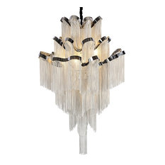 French Empire Chain Tassel LED Chandelier By Morsale