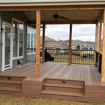 Lee's Summit MO Open Porch Design