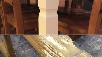 Cat Scratch Repairs and Painted Dining Set