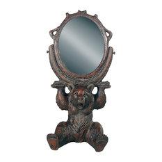 Sitting Bear Mirror