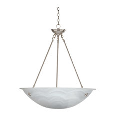 Carlton 3-Light Bowl Chandelier, 16x24