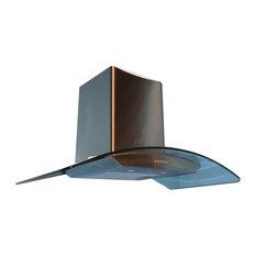 """36"""" Canopy Hood, 600 CFM & Halogen Lighting"""