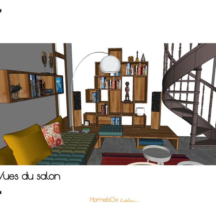 Recherche d'inspiration pour le Salon  /Conseil en aménagement