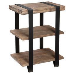 Industrial Side Tables And End Tables by Bolton Furniture, Inc.