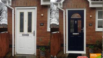 Solidor Composite Door installed in Swansea