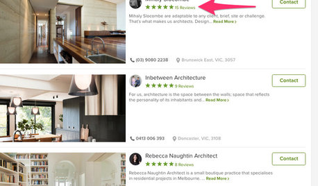 Move Up on Houzz With Professional Reviews
