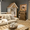 Pet's Place: A DIY Doghouse Blends Into This Home's Decor