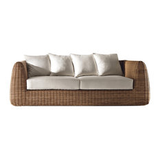 Cactus Outdoor Sofa, Bronze