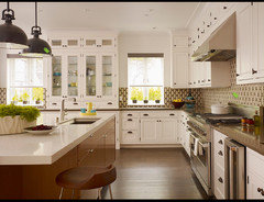 But As Far As The Knobs And Pulls For The White Kitchen Cabinets Go For The Brushed Nickel I Have Seen This Mix In So Many Pictures On Houzz See Attached