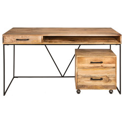 Industrial Desks And Hutches by Oak Idea Corporation
