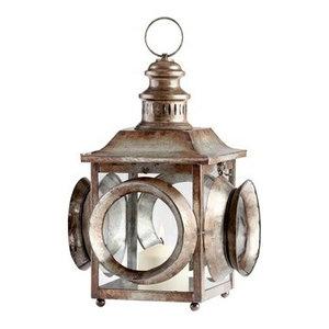 Cyan Design 05319 Casey Jones Rustic Candleholder