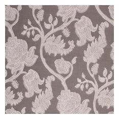 "Kahana Bloom Io Pewter Fabric, 54""x36"""
