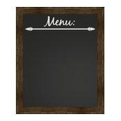 """Menu"" Framed Chalkboard, 19""x23"""