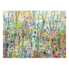 """""""Abstract Forest"""" Canvas Wall Art, 40""""x30"""""""