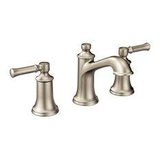 Moen Dartmoor 2-Handle High Arc Bathroom Faucet, Brushed Nickel