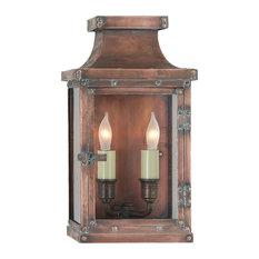 Bedford Small 3/4 Lantern, Natural Copper