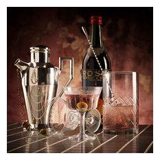 Retro Fizz 1890 Cocktail Glass