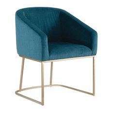 Palliser Furniture Scarlett Tub Chair Dark Teal Velvet