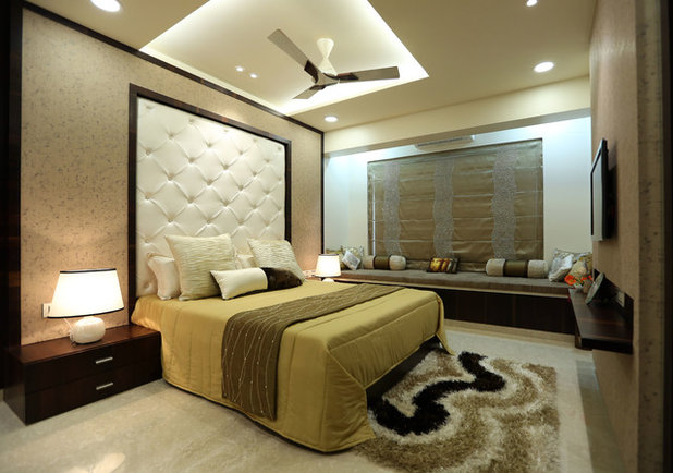 Contemporary Bedroom by Adi Interiors