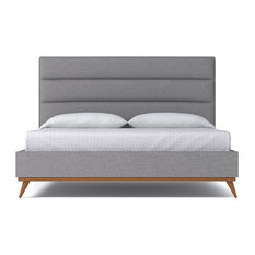 Cooper Upholstered Bed, Mountain Gray, Eastern King