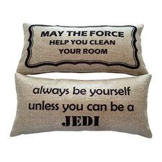 """Star Wars Jedi Storm Troopers Darth Vadar Gifts Decor Pillow"