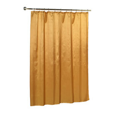 Moondance Gold Shower Curtain | Houzz