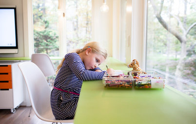 How to Sneak In a Kids' Study Zone Without Creating Clutter