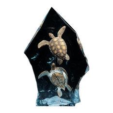 Sea Turtle Sculpture Intrepid Spirit