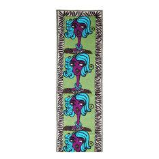 Woman Wool Rug, 92x300 cm