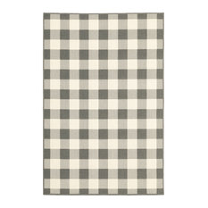 """Martinique Gingham Check Indoor/Outdoor Area Rug, 2'5""""x4'5"""""""