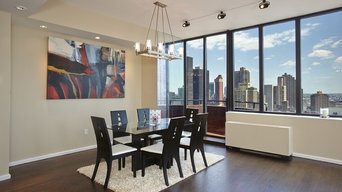 Madison Ave Duplex Penthouse Renovated and Staged