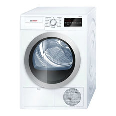 Bosch Compact Condensation Dryer and Large LED Display: White