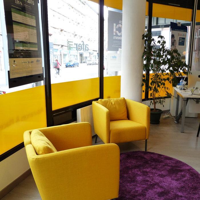 Locaux professionnels - Agence d'assurances Aviva Grenoble