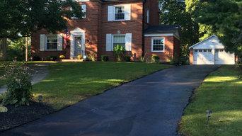 asphalt sealcoating residential driveways and repairs